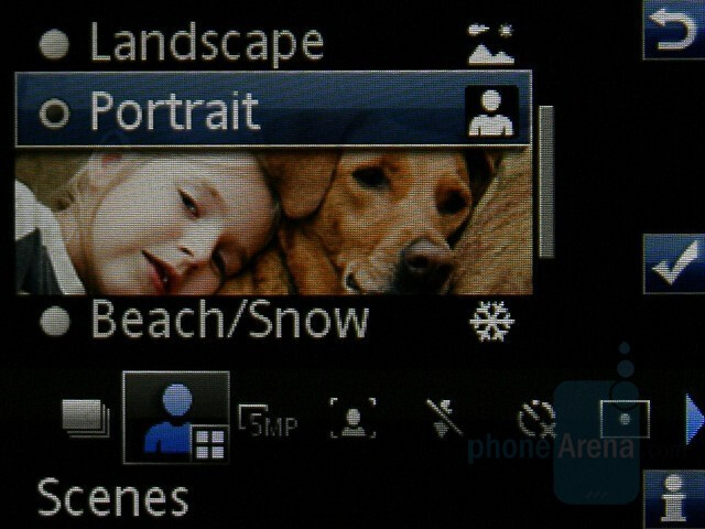 Camera interface - Sony Ericsson C902 Preview