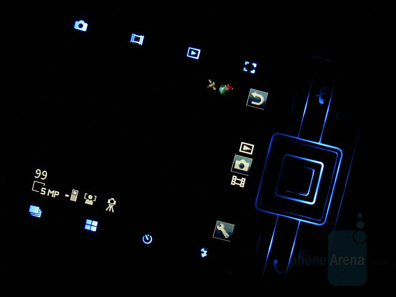 Touch shortcuts - Sony Ericsson C902 Preview