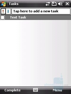 Tasks - HTC Touch Cruise Review