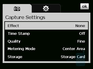 Camera interface - HTC Touch Cruise Review