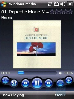 Windows Media Player - HTC Touch Cruise Review