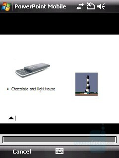 PowerPoint presentation - HTC Touch Cruise Review