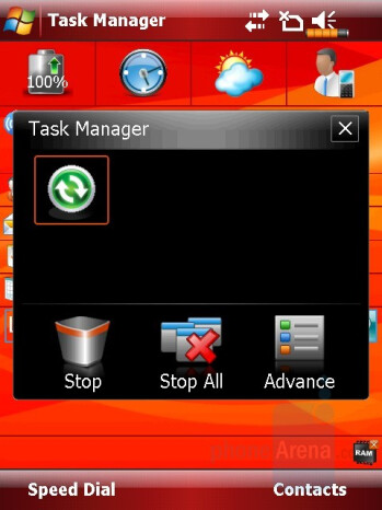 Taks manager - Eten M800 Review
