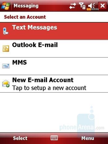 Messaging - Eten M800 Review