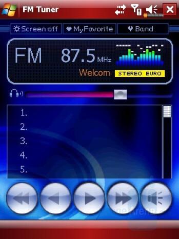 FM Radio - Eten M800 Review