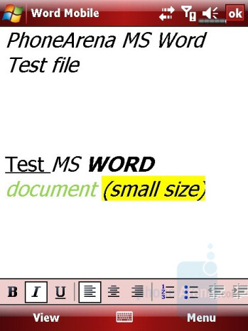 MS Word file - Eten M800 Review