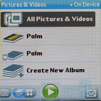 Pictures and Albums - Palm Centro AT&T Review