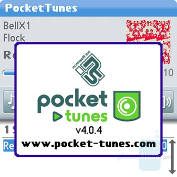 Pocket Tunes music player - Palm Centro AT&T Review
