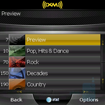 XM Radio - Palm Centro AT&T Review