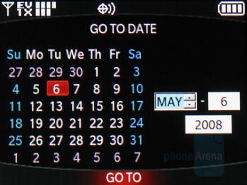 Calendar - LG enV2 Review