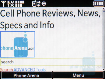 WAP 2.0 Browser - LG enV2 Review