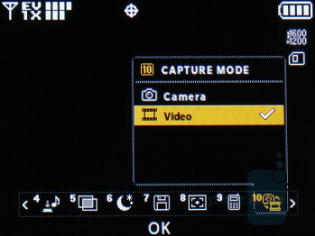 Camera interface - LG enV2 Review