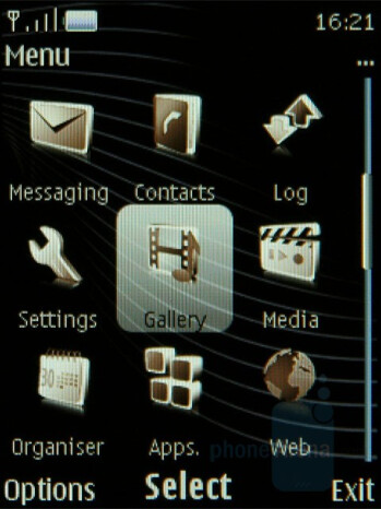 Main menu - Nokia 8800 Arte Review