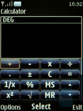 Scientific Calculator - Nokia 8800 Arte Review