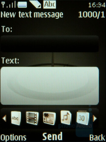 Messaging - Nokia 8800 Arte Review