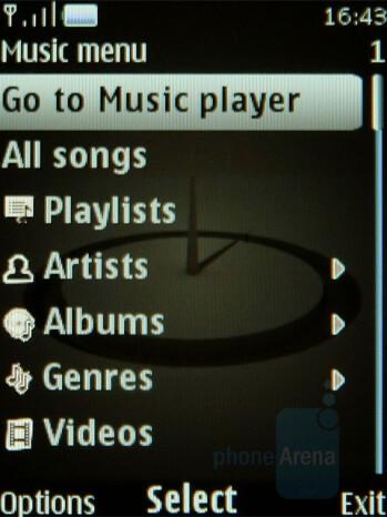 Audio playback - Nokia 8800 Arte Review