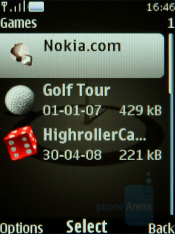 Games - Nokia 8800 Arte Review