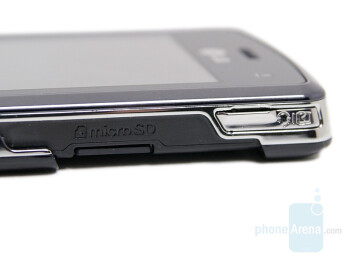 microSD slot - LG KF510 Review