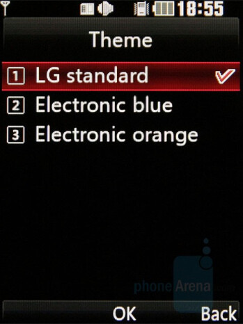 Themes - LG KF510 Review