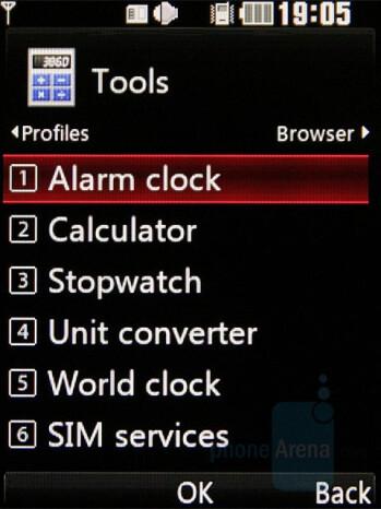 Tools - LG KF510 Review