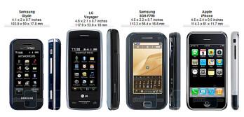samsung glyde review rh phonearena com Verizon LG Samsung Instinct