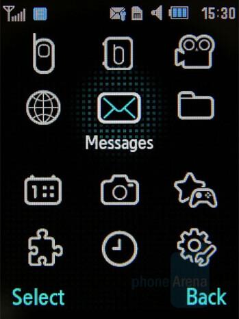 Main menu - Samsung Soul Review