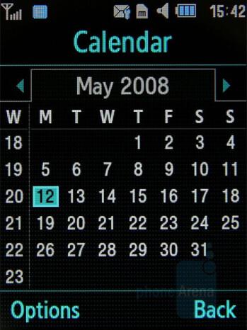 Calendar - Samsung Soul Review