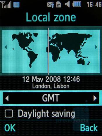World clock - Samsung Soul Review