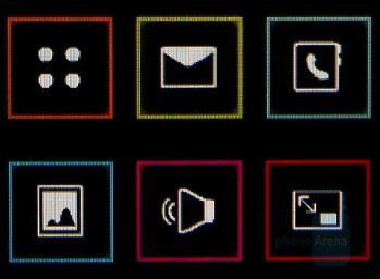 Home screen - LG KF600 - InteractPad - Samsung Soul Review