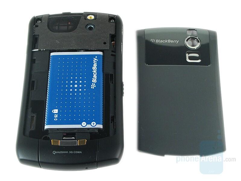 Battery - RIM BlackBerry Curve 8330 Review