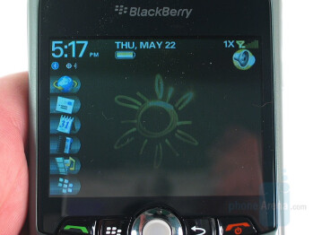 Display - RIM BlackBerry Curve 8330 Review