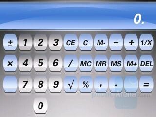 Calculator - RIM BlackBerry Curve 8330 Review
