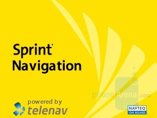 Sprint Navigation - RIM BlackBerry Curve 8330 Review
