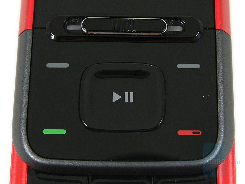 D-Pad - Nokia 5610 XpressMusic Review