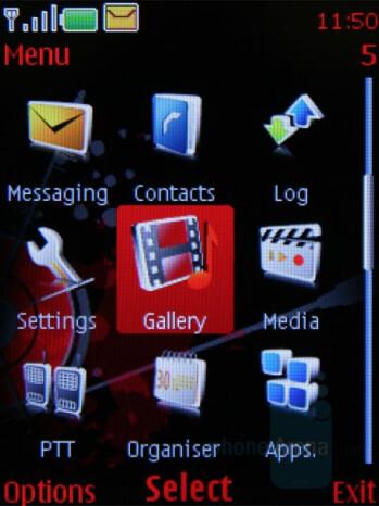 Main menu - Nokia 5610 XpressMusic Review