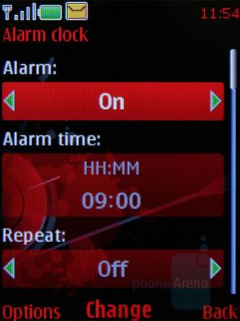 Alarm - Nokia 5610 XpressMusic Review