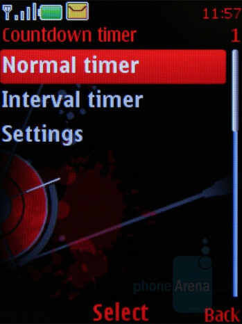 Timer - Nokia 5610 XpressMusic Review