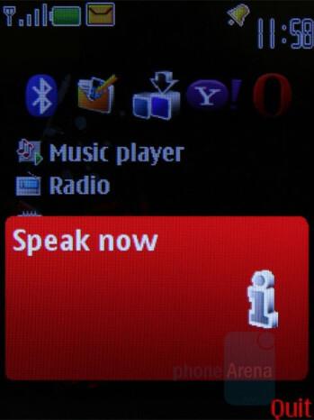 Voice commands - Nokia 5610 XpressMusic Review