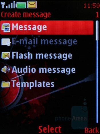 Messaging - Nokia 5610 XpressMusic Review