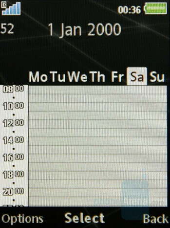 Calendar - Sony Ericsson G502 Review