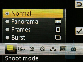 Camera Interface - Sony Ericsson G502 Review