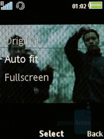 Video Playback - Sony Ericsson G502 Review