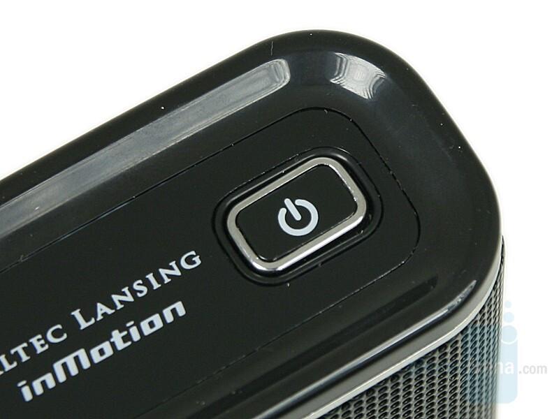 Power Button - Altec Lansing Nobi Review