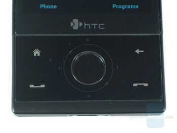 Navigation buttons - HTC Touch Diamond Review