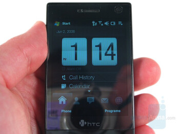 Touch screen - HTC Touch Diamond Review