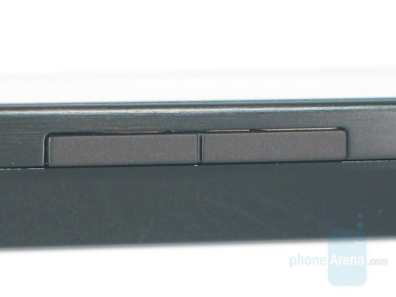 Volume rocker - HTC Touch Diamond Review