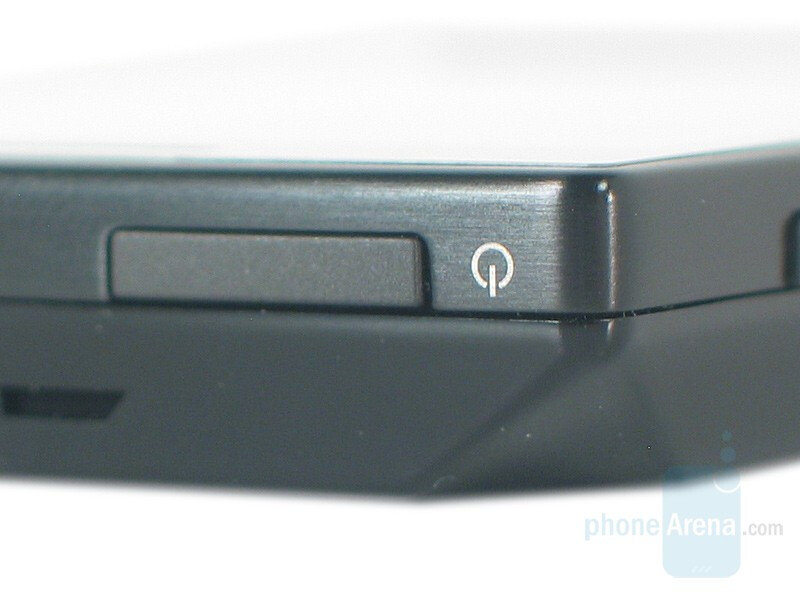 Power button - HTC Touch Diamond Review
