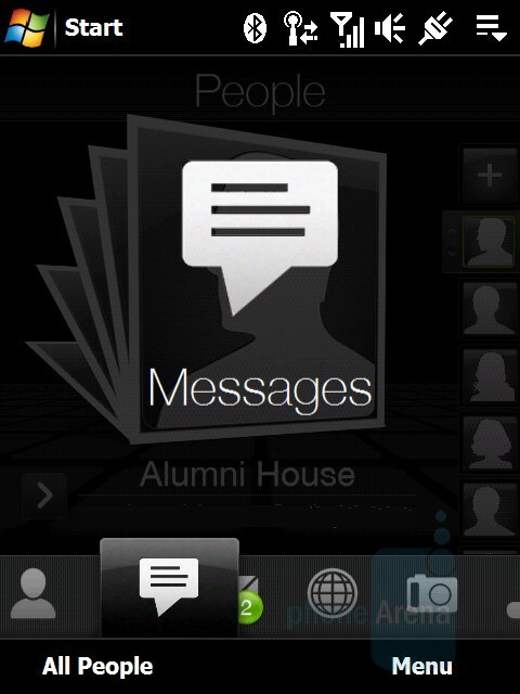 Messages - HTC Touch Diamond Review