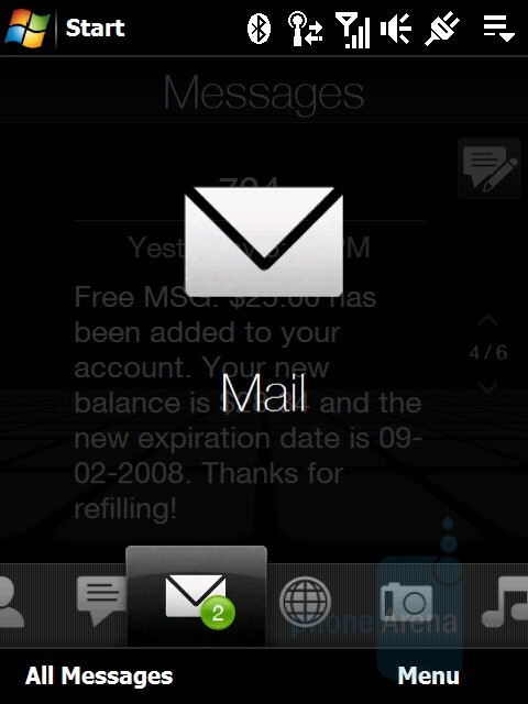 Mail - HTC Touch Diamond Review
