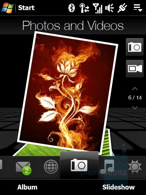 Pictures and Videos - HTC Touch Diamond Review